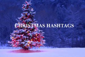 christmas hashtags