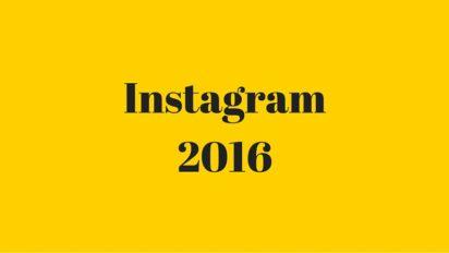 Instagram in 2016