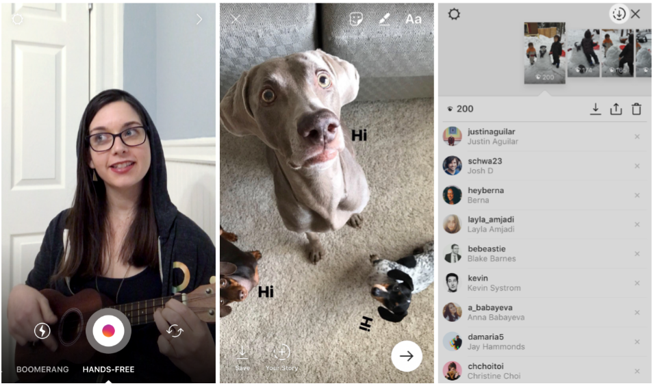 instagram contextual stickers